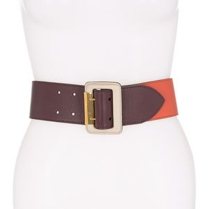 Burberry Cecile Leather Combo Belt